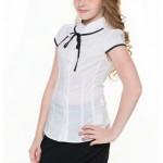 Блузки школьные фото